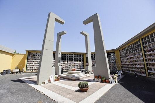 San Vittorino uno dei cimiteri capitolini