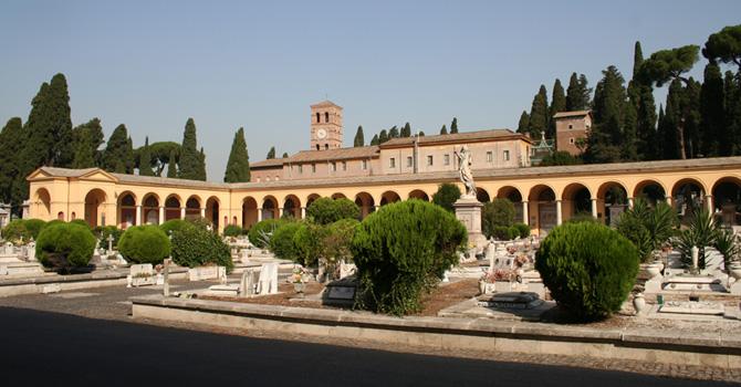 viale del Cimitero Monumentale del Verano
