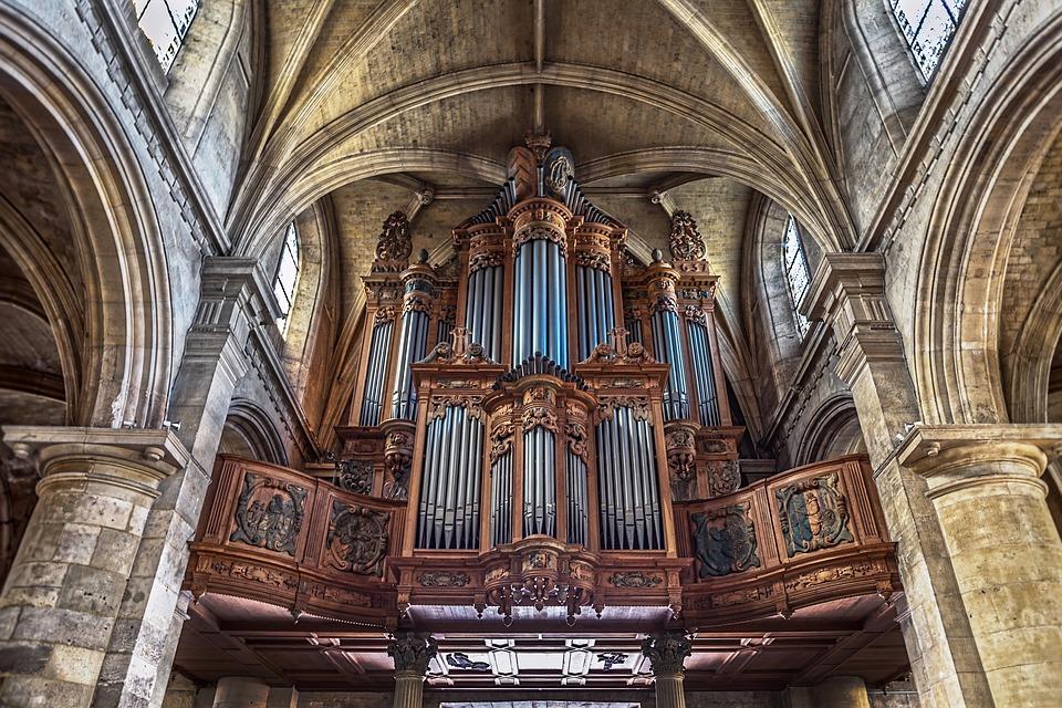 organo per suonare musica funebre